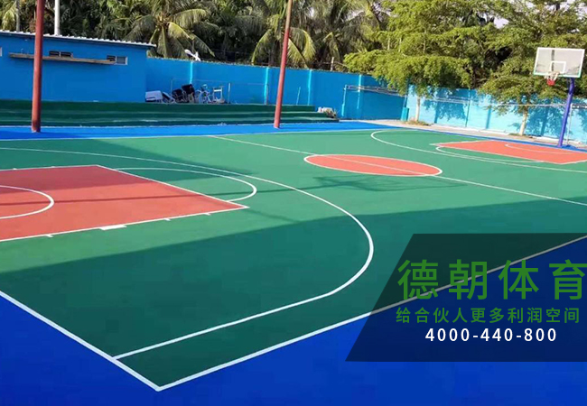 江苏硅PU篮球场