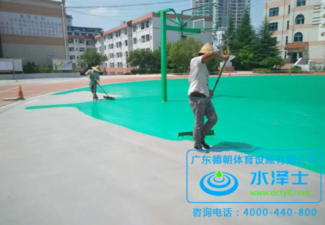 丙烯酸球场材料