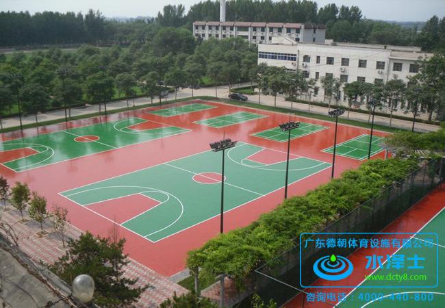 硅PU篮球场地面材料