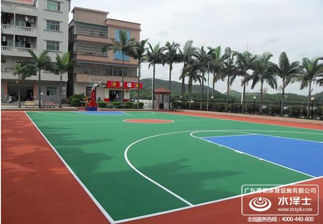 硅PU 篮球场施工