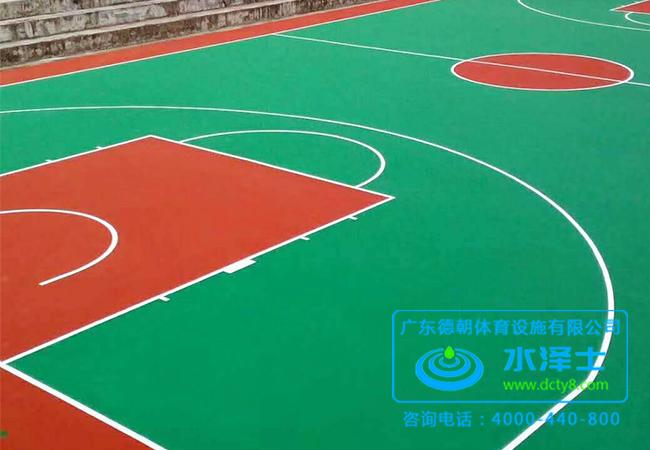 硅PU球场施工
