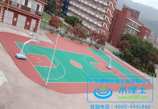 室外丙烯酸篮球场