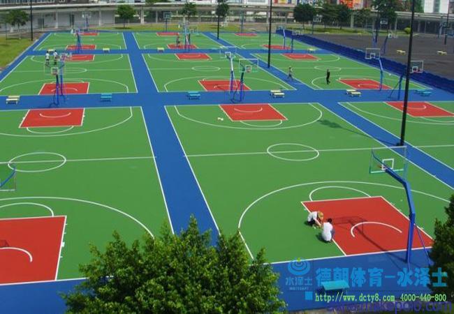 能生产和施工WPPU篮球场工程的公司更值得信赖!!