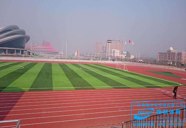 高原地区新国标环形塑胶跑道施工