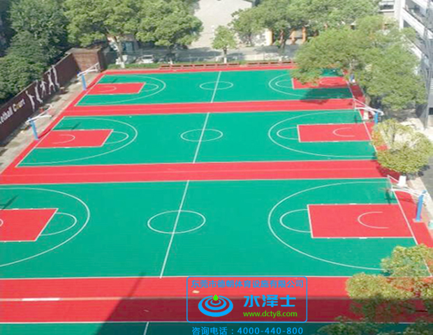WPPU篮球场材料