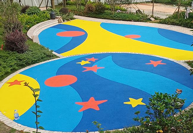 小区EPDM儿童游乐区