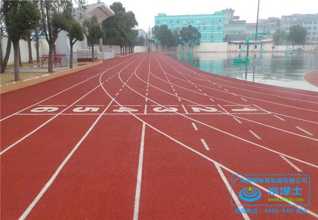 学校透气型塑胶跑道