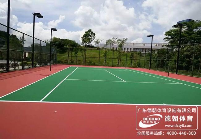 塑胶网球场材料