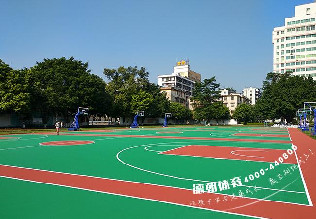 室外篮球场地面材料1