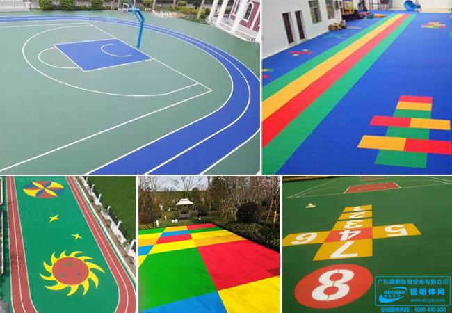 学校球场跑道材料