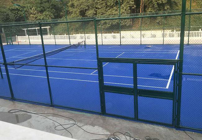 跨国工程案例|缅甸硅pu球场施工顺利竣工!