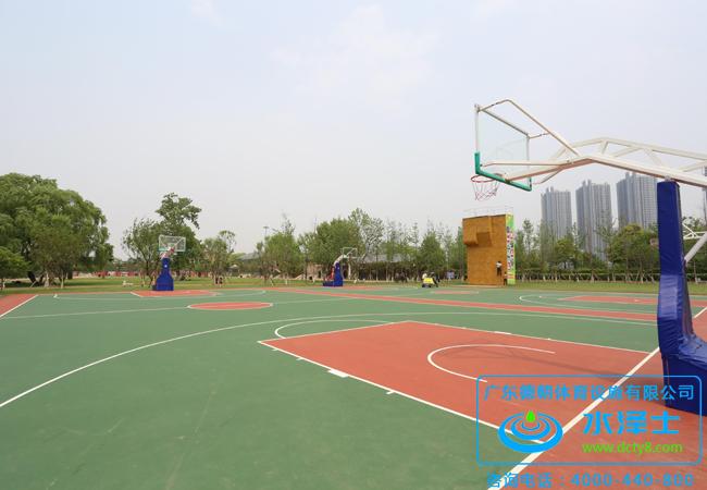 球场地面材料