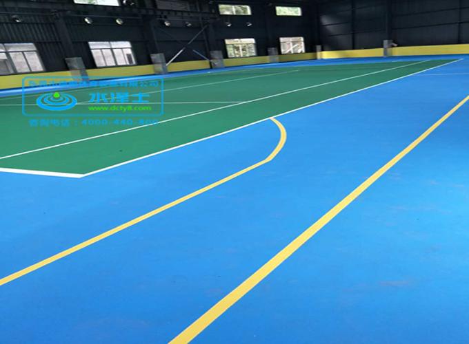 弹性丙烯酸网球场-德朝体育