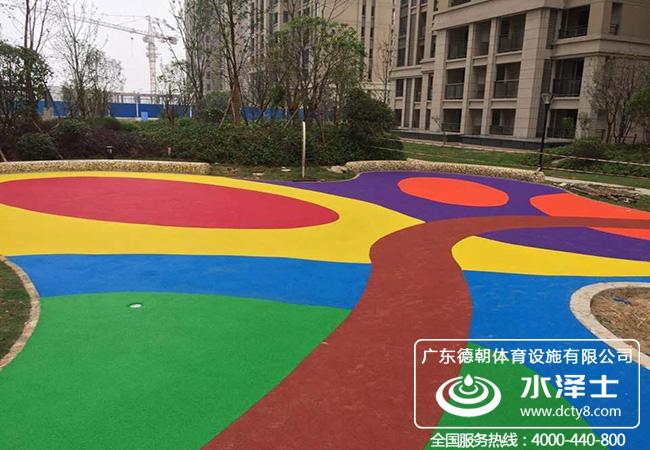 幼儿园EPDM塑胶运动地面
