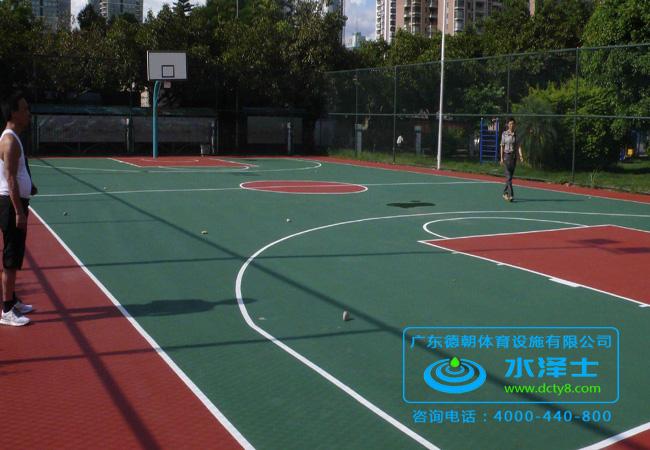 广西硅PU篮球场材料厂家