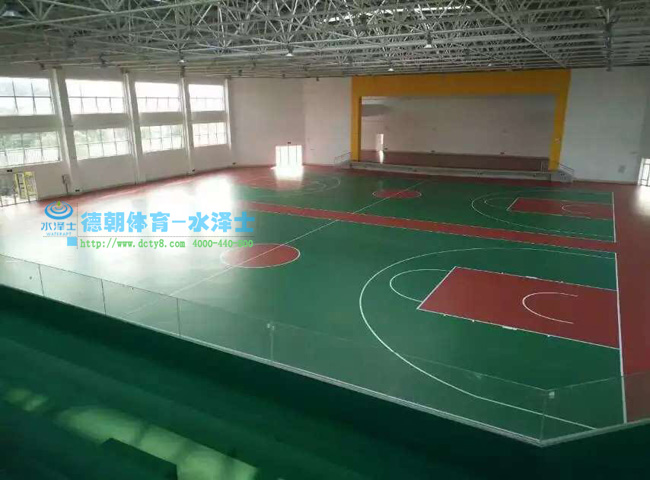 WPPU篮球场工程